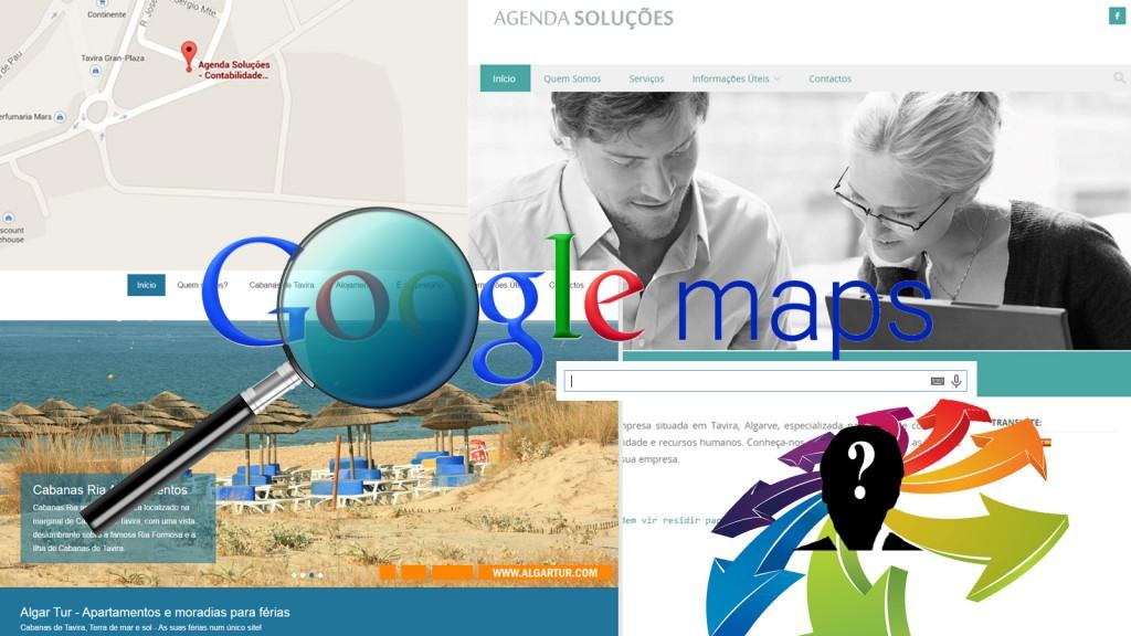 A sua Web no Google