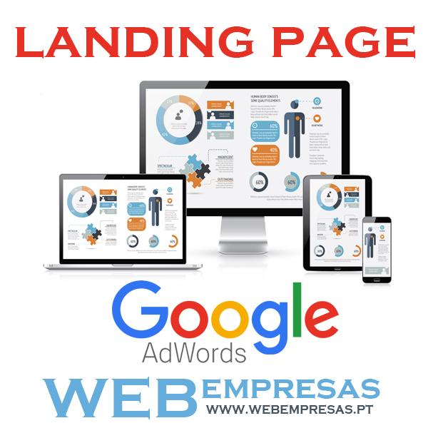 Google Landing Page Web Empresas PT