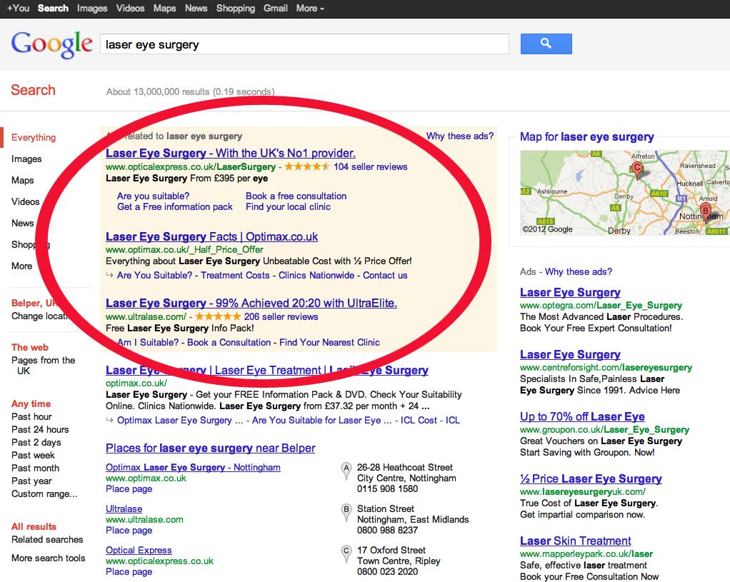 Google Pesquisa Web Empresas PT