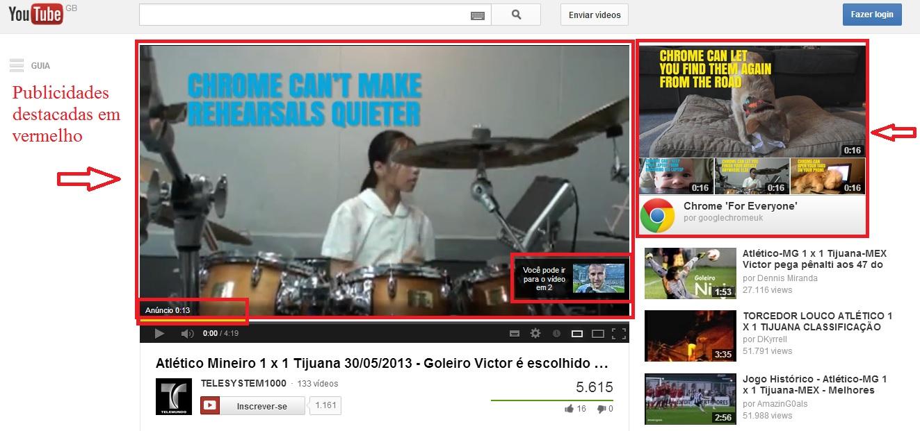 Google Publicidade YouTube Web Empresas PT